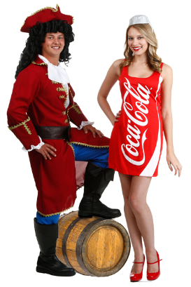 Couple Captain and Coke