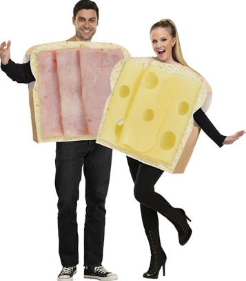 Couple Ham and Cheese