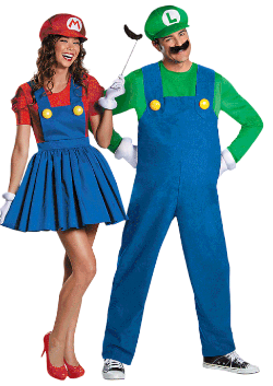 Couples Mario and Luigi