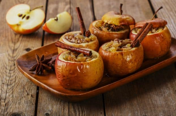 fall baked apples