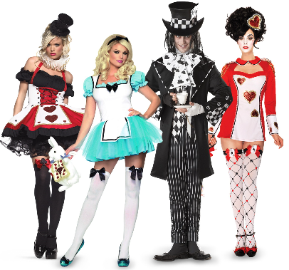 Group Alice in Wonderland