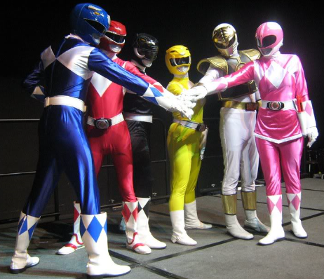 Group Power Rangers
