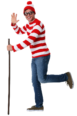 Single Wheres Waldo