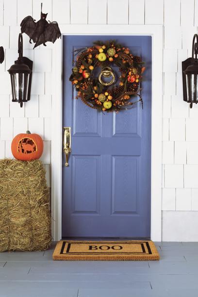 Festive Front Door