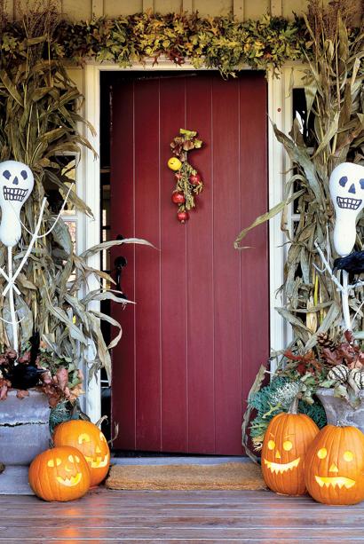 Gourd Scarecrows